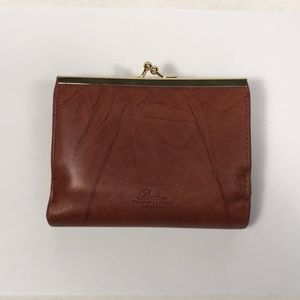 Buxton Brown Leather Wallet / Coin Purse
